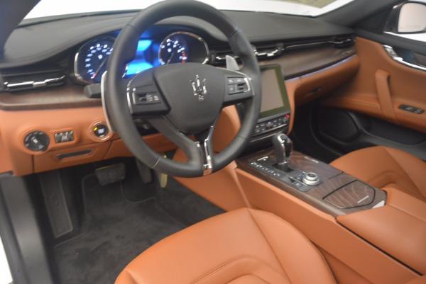 Used 2017 Maserati Quattroporte SQ4 for sale Sold at Pagani of Greenwich in Greenwich CT 06830 13