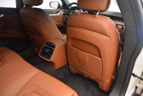 Used 2017 Maserati Quattroporte SQ4 for sale Sold at Pagani of Greenwich in Greenwich CT 06830 19