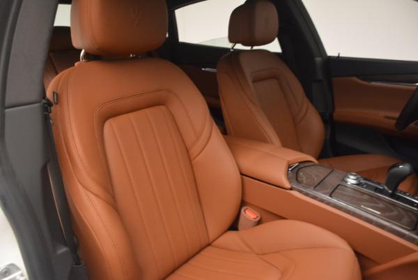 Used 2017 Maserati Quattroporte SQ4 for sale Sold at Pagani of Greenwich in Greenwich CT 06830 24