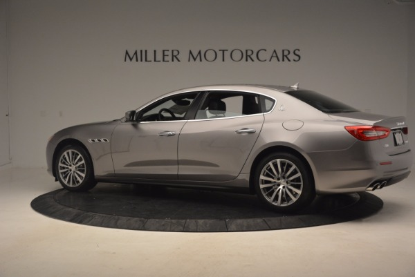 New 2017 Maserati Quattroporte SQ4 for sale Sold at Pagani of Greenwich in Greenwich CT 06830 4