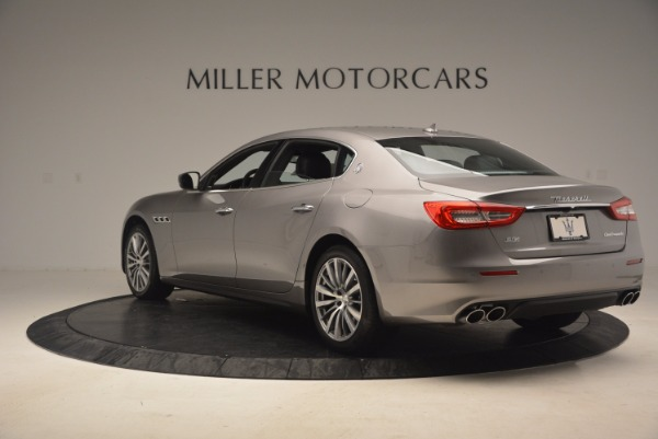New 2017 Maserati Quattroporte SQ4 for sale Sold at Pagani of Greenwich in Greenwich CT 06830 5