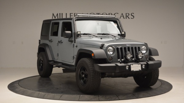 Used 2014 Jeep Wrangler Unlimited Sport for sale Sold at Pagani of Greenwich in Greenwich CT 06830 13