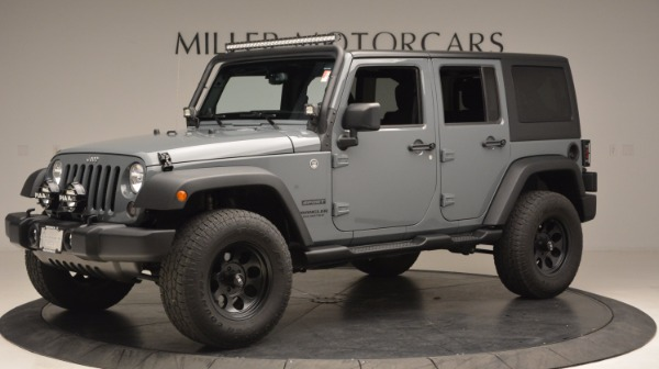 Used 2014 Jeep Wrangler Unlimited Sport for sale Sold at Pagani of Greenwich in Greenwich CT 06830 2
