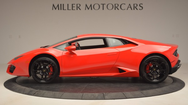 Used 2016 Lamborghini Huracan LP 580-2 for sale Sold at Pagani of Greenwich in Greenwich CT 06830 3