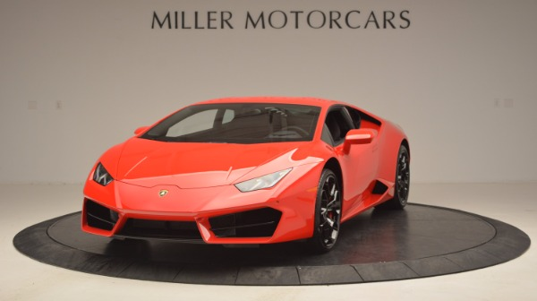 Used 2016 Lamborghini Huracan LP 580-2 for sale Sold at Pagani of Greenwich in Greenwich CT 06830 1