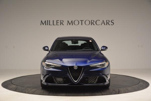 New 2017 Alfa Romeo Giulia Quadrifoglio for sale Sold at Pagani of Greenwich in Greenwich CT 06830 12
