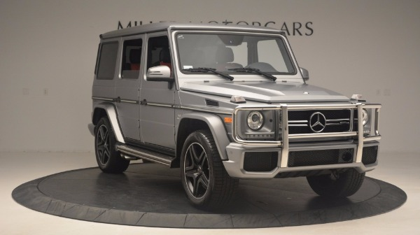 Used 2016 Mercedes Benz G-Class G 63 AMG for sale Sold at Pagani of Greenwich in Greenwich CT 06830 11