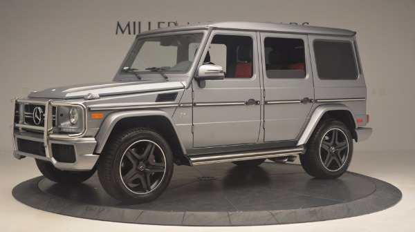 Used 2016 Mercedes Benz G-Class G 63 AMG for sale Sold at Pagani of Greenwich in Greenwich CT 06830 2