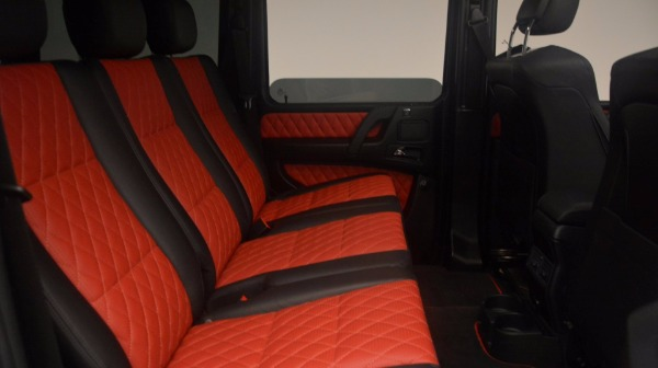 Used 2016 Mercedes Benz G-Class G 63 AMG for sale Sold at Pagani of Greenwich in Greenwich CT 06830 20