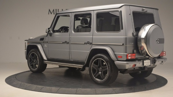 Used 2016 Mercedes Benz G-Class G 63 AMG for sale Sold at Pagani of Greenwich in Greenwich CT 06830 4