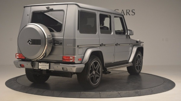 Used 2016 Mercedes Benz G-Class G 63 AMG for sale Sold at Pagani of Greenwich in Greenwich CT 06830 7