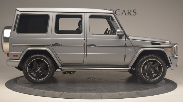Used 2016 Mercedes Benz G-Class G 63 AMG for sale Sold at Pagani of Greenwich in Greenwich CT 06830 9
