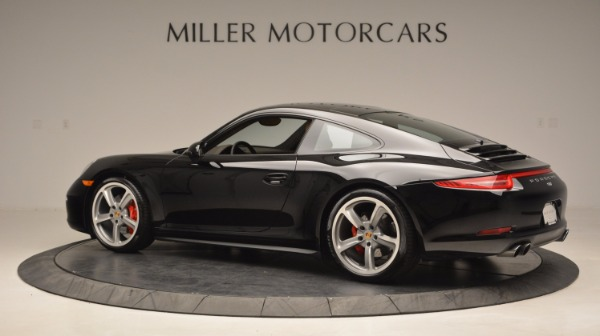 Used 2014 Porsche 911 Carrera 4S for sale Sold at Pagani of Greenwich in Greenwich CT 06830 4