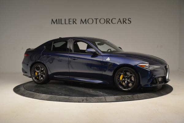 Used 2017 Alfa Romeo Giulia Quadrifoglio for sale Sold at Pagani of Greenwich in Greenwich CT 06830 10