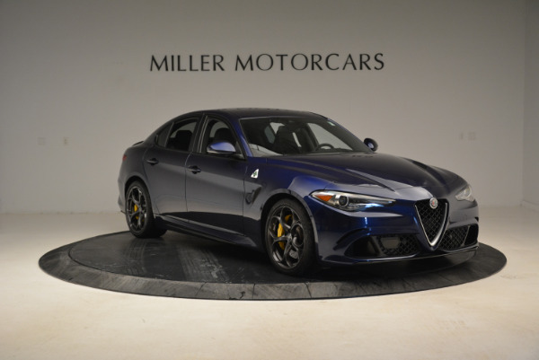 Used 2017 Alfa Romeo Giulia Quadrifoglio for sale Sold at Pagani of Greenwich in Greenwich CT 06830 11