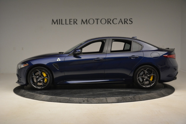 Used 2017 Alfa Romeo Giulia Quadrifoglio for sale Sold at Pagani of Greenwich in Greenwich CT 06830 3