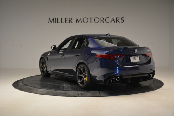Used 2017 Alfa Romeo Giulia Quadrifoglio for sale Sold at Pagani of Greenwich in Greenwich CT 06830 5