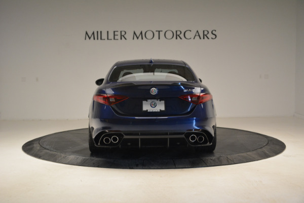 Used 2017 Alfa Romeo Giulia Quadrifoglio for sale Sold at Pagani of Greenwich in Greenwich CT 06830 6