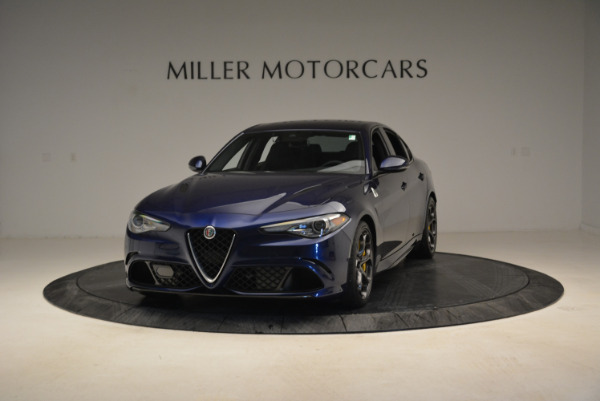 Used 2017 Alfa Romeo Giulia Quadrifoglio for sale Sold at Pagani of Greenwich in Greenwich CT 06830 1