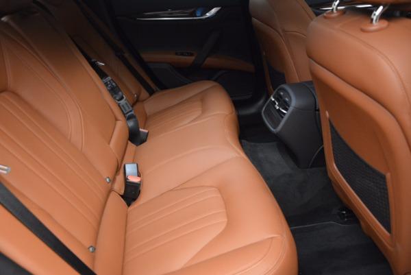 New 2017 Maserati Ghibli SQ4 S Q4 for sale Sold at Pagani of Greenwich in Greenwich CT 06830 23