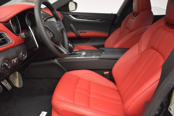 New 2017 Maserati Ghibli SQ4 for sale Sold at Pagani of Greenwich in Greenwich CT 06830 19