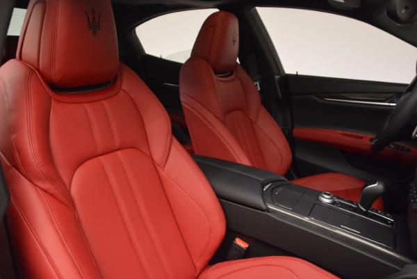 New 2017 Maserati Ghibli SQ4 for sale Sold at Pagani of Greenwich in Greenwich CT 06830 28