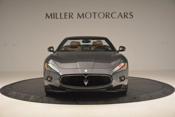 Used 2012 Maserati GranTurismo Sport for sale Sold at Pagani of Greenwich in Greenwich CT 06830 12
