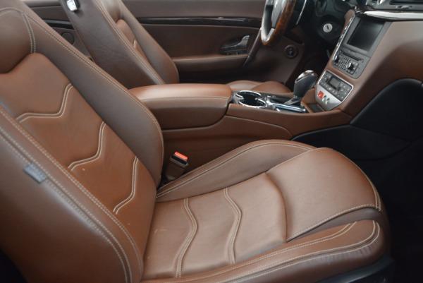 Used 2012 Maserati GranTurismo Sport for sale Sold at Pagani of Greenwich in Greenwich CT 06830 28