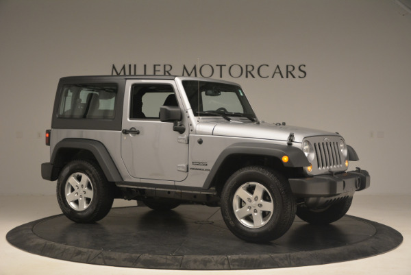 Used 2015 Jeep Wrangler Sport for sale Sold at Pagani of Greenwich in Greenwich CT 06830 10