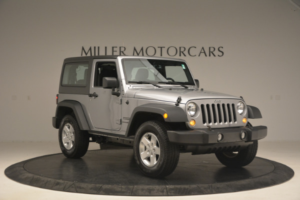 Used 2015 Jeep Wrangler Sport for sale Sold at Pagani of Greenwich in Greenwich CT 06830 11