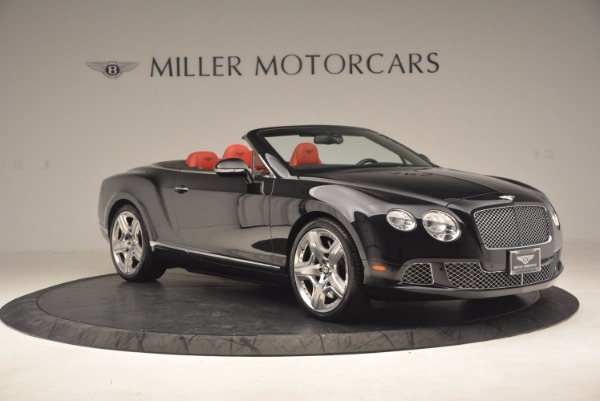 Used 2012 Bentley Continental GT W12 Convertible for sale Sold at Pagani of Greenwich in Greenwich CT 06830 10