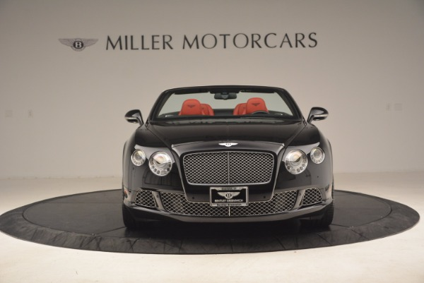 Used 2012 Bentley Continental GT W12 Convertible for sale Sold at Pagani of Greenwich in Greenwich CT 06830 12