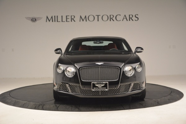 Used 2012 Bentley Continental GT W12 Convertible for sale Sold at Pagani of Greenwich in Greenwich CT 06830 13