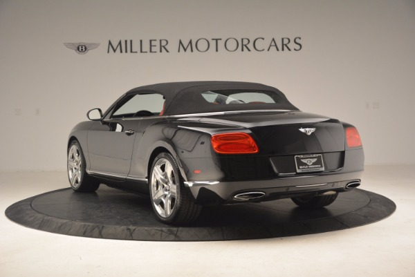 Used 2012 Bentley Continental GT W12 Convertible for sale Sold at Pagani of Greenwich in Greenwich CT 06830 18