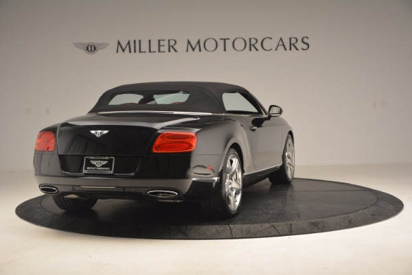 Used 2012 Bentley Continental GT W12 Convertible for sale Sold at Pagani of Greenwich in Greenwich CT 06830 20