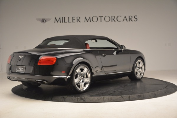 Used 2012 Bentley Continental GT W12 Convertible for sale Sold at Pagani of Greenwich in Greenwich CT 06830 21
