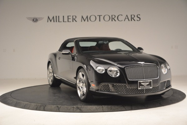 Used 2012 Bentley Continental GT W12 Convertible for sale Sold at Pagani of Greenwich in Greenwich CT 06830 24
