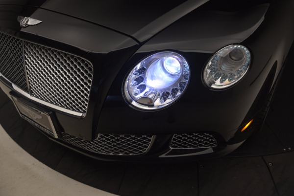 Used 2012 Bentley Continental GT W12 Convertible for sale Sold at Pagani of Greenwich in Greenwich CT 06830 28