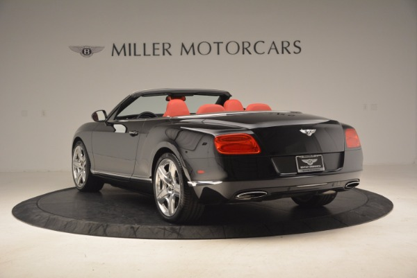 Used 2012 Bentley Continental GT W12 Convertible for sale Sold at Pagani of Greenwich in Greenwich CT 06830 5