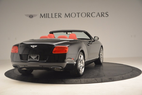 Used 2012 Bentley Continental GT W12 Convertible for sale Sold at Pagani of Greenwich in Greenwich CT 06830 7