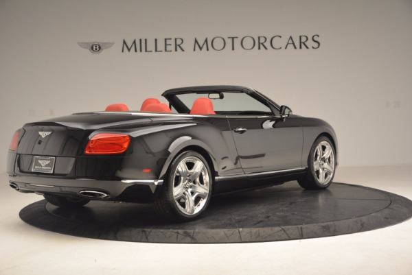 Used 2012 Bentley Continental GT W12 Convertible for sale Sold at Pagani of Greenwich in Greenwich CT 06830 8