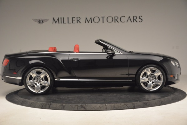 Used 2012 Bentley Continental GT W12 Convertible for sale Sold at Pagani of Greenwich in Greenwich CT 06830 9