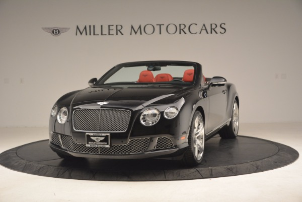 Used 2012 Bentley Continental GT W12 Convertible for sale Sold at Pagani of Greenwich in Greenwich CT 06830 1