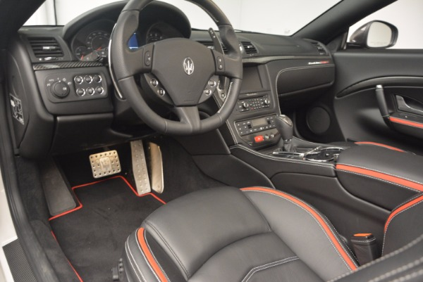 Used 2015 Maserati GranTurismo MC Centennial for sale Sold at Pagani of Greenwich in Greenwich CT 06830 26