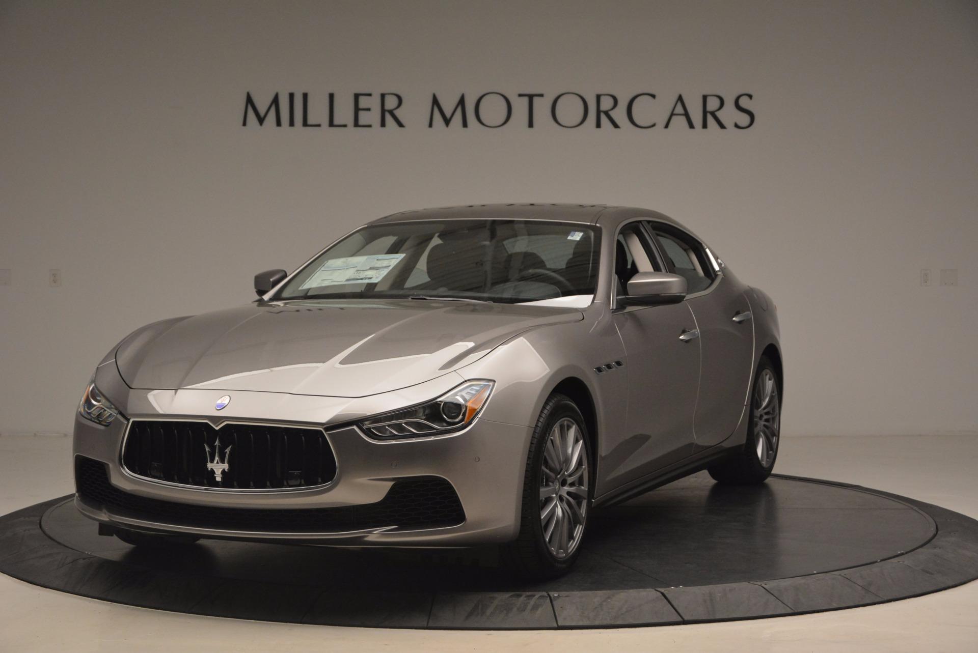 New 2017 Maserati Ghibli SQ4 for sale Sold at Pagani of Greenwich in Greenwich CT 06830 1