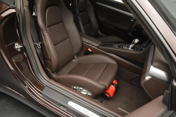 Used 2014 Porsche 911 Turbo for sale Sold at Pagani of Greenwich in Greenwich CT 06830 24