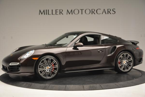 Used 2014 Porsche 911 Turbo for sale Sold at Pagani of Greenwich in Greenwich CT 06830 3