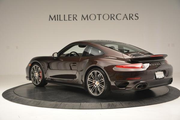 Used 2014 Porsche 911 Turbo for sale Sold at Pagani of Greenwich in Greenwich CT 06830 5