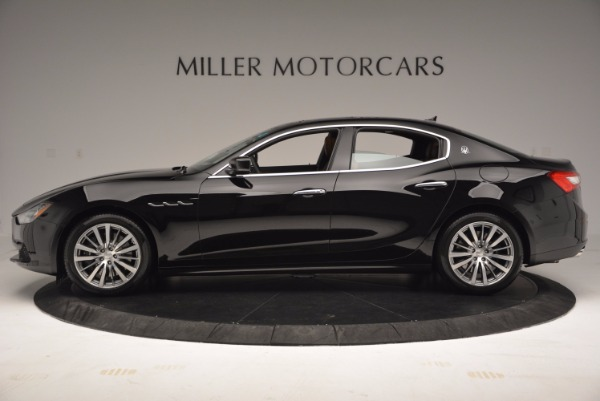 New 2017 Maserati Ghibli S Q4 EX-LOANER for sale Sold at Pagani of Greenwich in Greenwich CT 06830 3