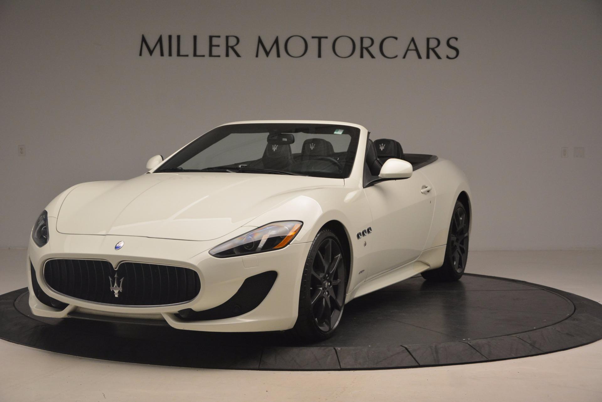 Used 2014 Maserati GranTurismo Sport for sale Sold at Pagani of Greenwich in Greenwich CT 06830 1